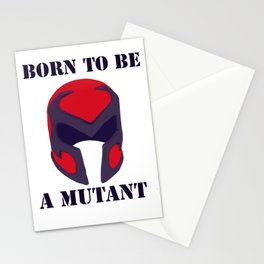 Born to be a mutant Stationery Cards