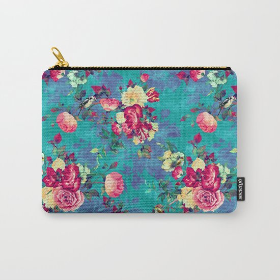 Flowers & Birds II Carry-All Pouch