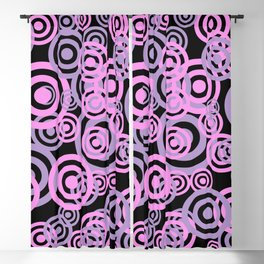 Abstract Circles 231 Blackout Curtain