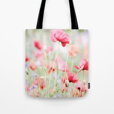 Poppy pastels Tote Bag