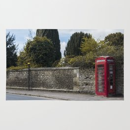 Telephone booth Rug