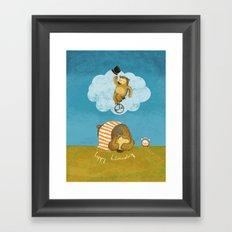 What bears dream of Framed Art Print