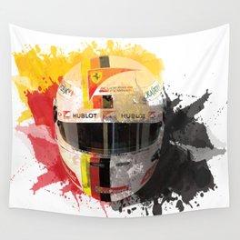 Sebastian Vettel #5 - 2017 Wall Tapestry