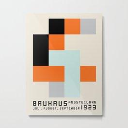 Vintage poster-Bauhaus 1923/3. Metal Print