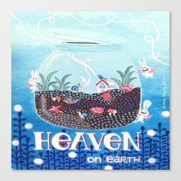 Heaven On Earth Canvas Print
