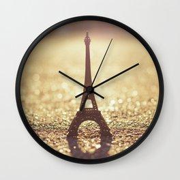 Paris, City of Light Wall Clock