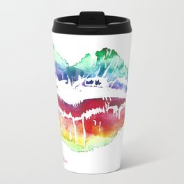 Kiss Of Color Travel Mug