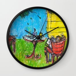 Weekends with Karl Wall Clock