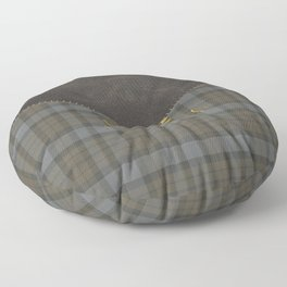 SASSENACH TARTAN LEATHER Floor Pillow