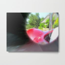 Objects in the Mirror Metal Print