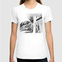 christ T-shirts featuring Christ statue by Vorona Photography
