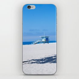 Lifeguard Tower I iPhone Skin