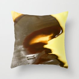 A Walk To The Temple Of Snoe Lynx Throw Pillow