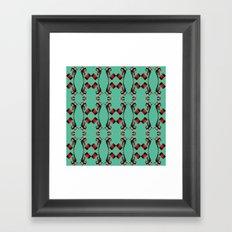 Harley pattern Framed Art Print