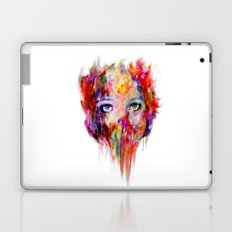 only your eyes can speak Laptop & iPad Skin