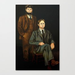 Dwight And Mose Painting Photographic Print Canvas Print