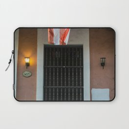 The flag of Puerto Rico Laptop Sleeve