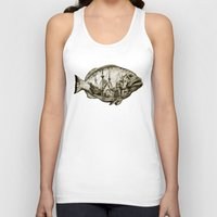 fish Tank Tops featuring fish by Кaterina Кalinich