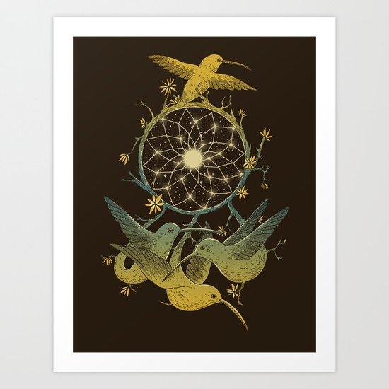 Dreamcatching Art Print