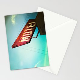 motel schmotel Stationery Cards