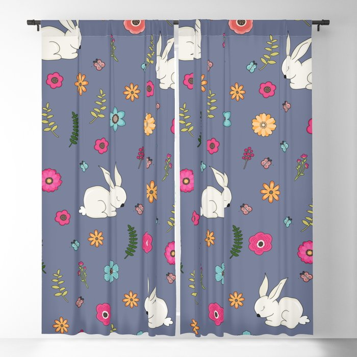 Easter bunny Blackout Curtain