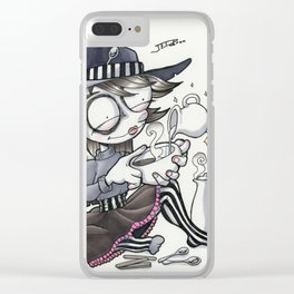 The Coffee Witch Clear iPhone Case