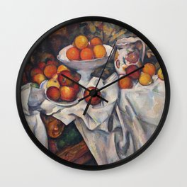 Camille Pissarro - Apples And Oranges Wall Clock