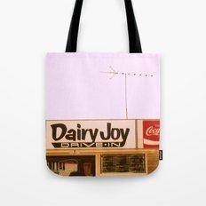 Dairy Joy ~ vintage ice cream sign/stand Tote Bag