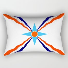 Assyrian people  ethnic flag Rectangular Pillow