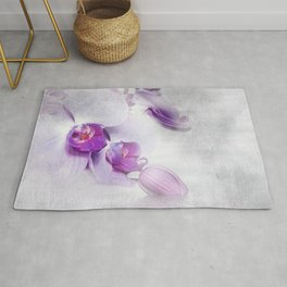 Colurful Orchid 2 Rug