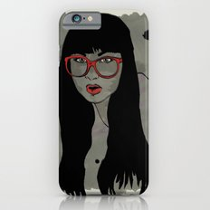 Never met a Hipster that really needs glasses iPhone 6s Slim Case