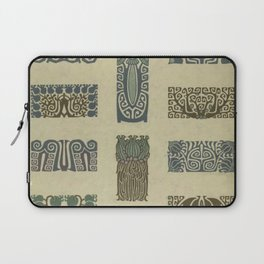 Art Nouveau Patterns Laptop Sleeve