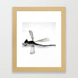 MINUTIAE / 05 Framed Art Print