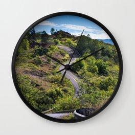 The Road To Greatness Kauai Hawaii Wall Clock