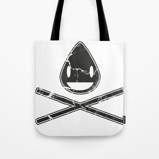Cross-Staw Distressed Tote Bag