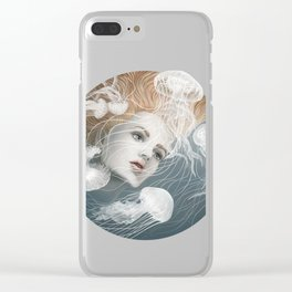 Jelly fish Clear iPhone Case
