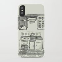 kitchen iPhone & iPod Cases featuring Kitchen by piankaB