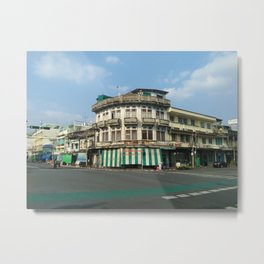 Bangkok Perspective V1 Metal Print