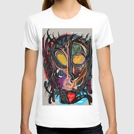 Heart is Art inspired by the music of Thomas Dolby T-shirt