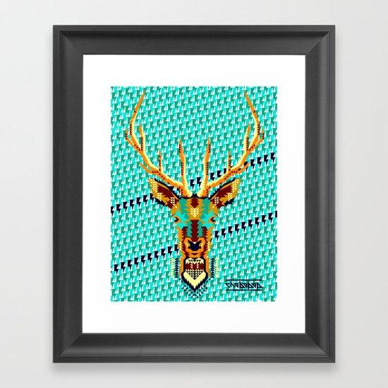 Bambi Stardust Framed Art Print