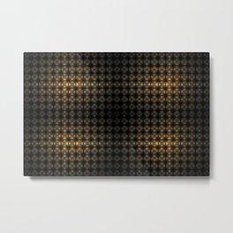 Fractal Art by Sven Fauth - Eye of the Matrix Metal Print