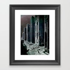 citymdnfltr Framed Art Print