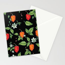 naughty habanero Stationery Cards