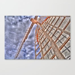 From above or below?  Canvas Print