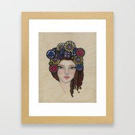 Stained Memories Framed Art Print
