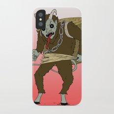 Krampus iPhone X Slim Case