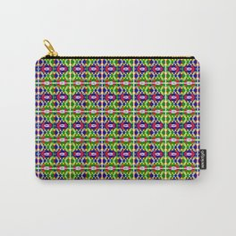 Blue Green Tile 2 Carry-All Pouch