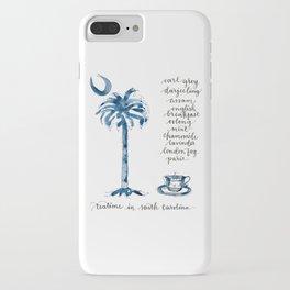 Teatime in South Carolina iPhone Case
