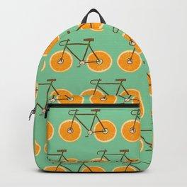 Bici orange Backpack