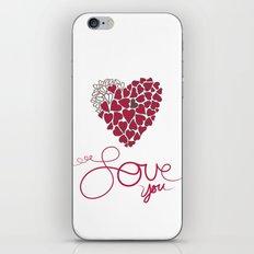 Love You . . . iPhone & iPod Skin